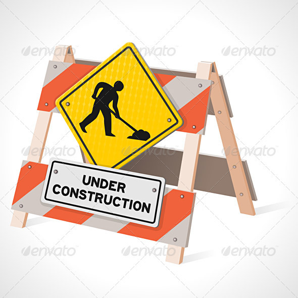 Under Construction Road Sign - Industries Business