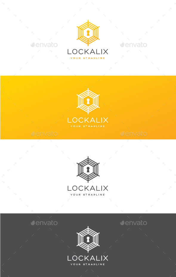 Lockalix Logo - Symbols Logo Templates
