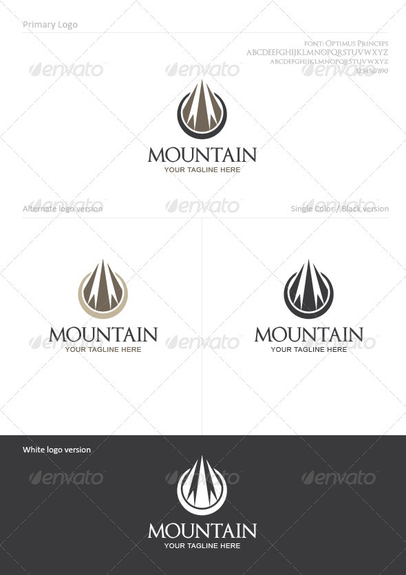 Mountain - Nature Logo Templates