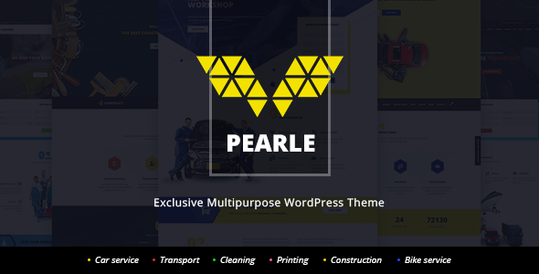 Pearle – Multipurpose Service & Shop WP Theme