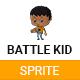 Boy Battle Kid Sprite - GraphicRiver Item for Sale