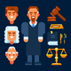 Judge and Judicial Sitting Stuff - GraphicRiver Item for Sale