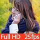 Smiling Woman Talking on the Phone - VideoHive Item for Sale