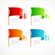 Colorful Flags Options Banner - GraphicRiver Item for Sale