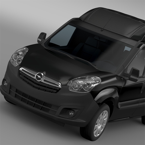 Opel Combo LWB High Roof Cargo (D) 2015 - 3DOcean Item for Sale
