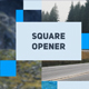 Square Opener - VideoHive Item for Sale