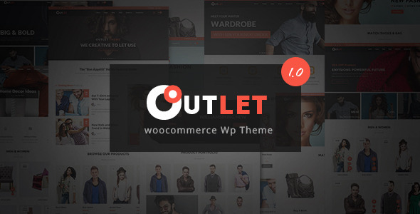 eCommerce WordPress Theme to Build A Shop – Outlet