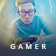 Youtube Gamer Channel Art - GraphicRiver Item for Sale