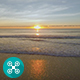 Beach Sunrise Aerial 4 - VideoHive Item for Sale