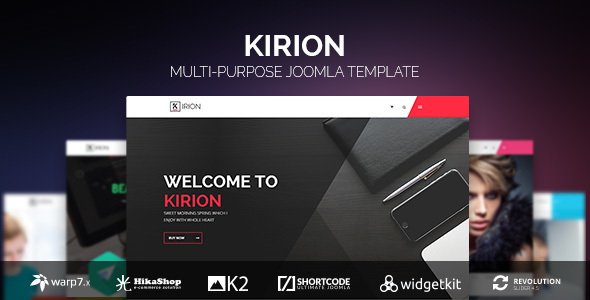 Kirion - Multipurpose Joomla Template - Business Corporate