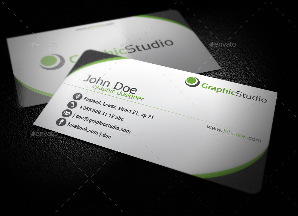 Simple Business Card by BlinVarfi | GraphicRiver