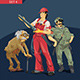 Characters Set 4 - GraphicRiver Item for Sale
