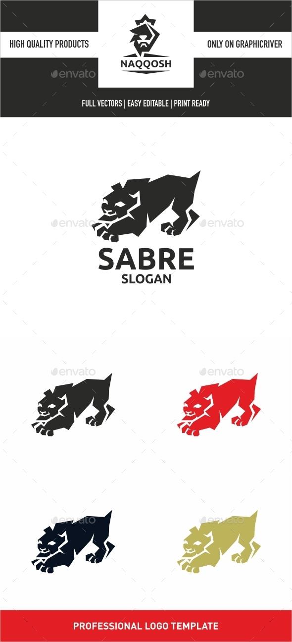 Sabre - Animals Logo Templates