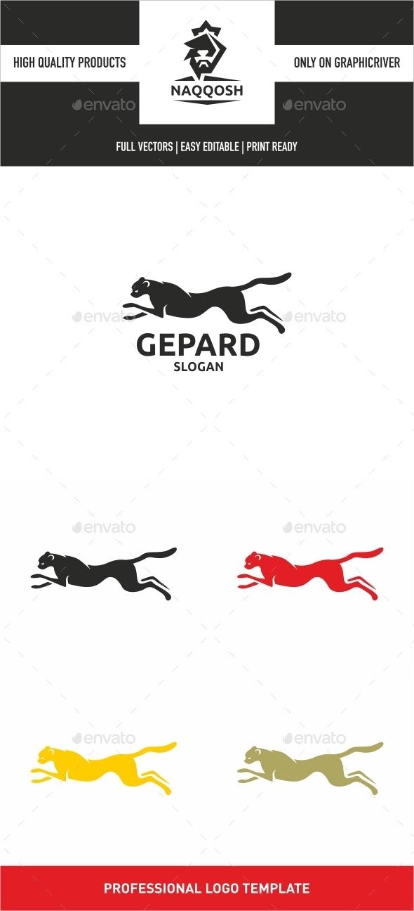 Gepard - Animals Logo Templates