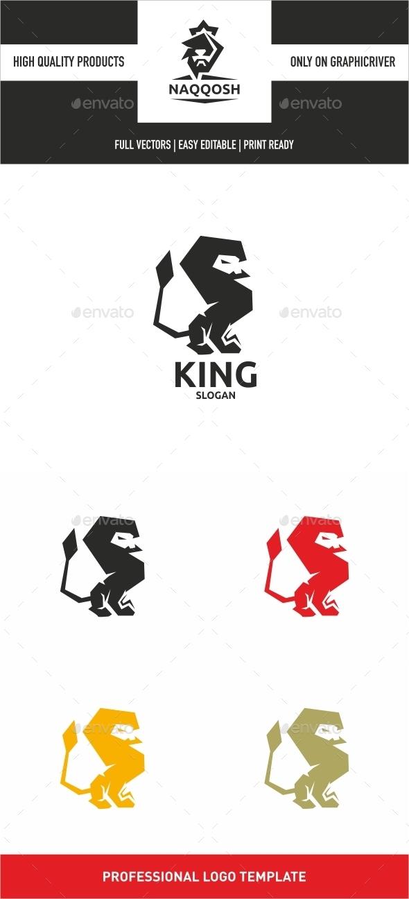 King - Symbols Logo Templates