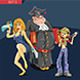 Characters Set 3 - GraphicRiver Item for Sale