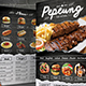 Black Brick Wall Menu - GraphicRiver Item for Sale