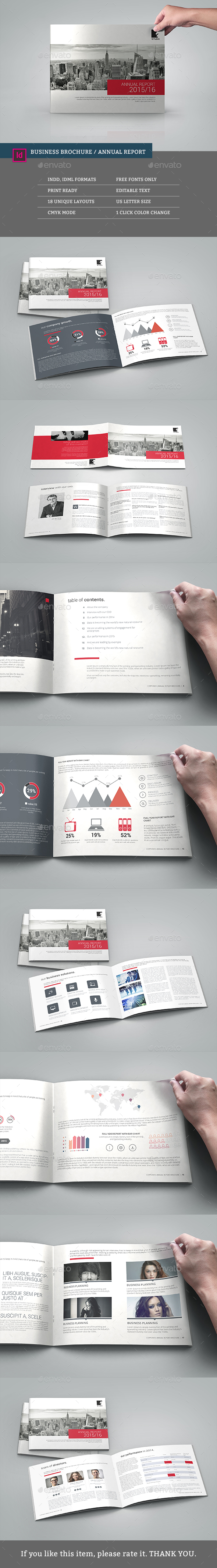 Multipurpose Corporate Annual Report Brochure - Corporate Brochures