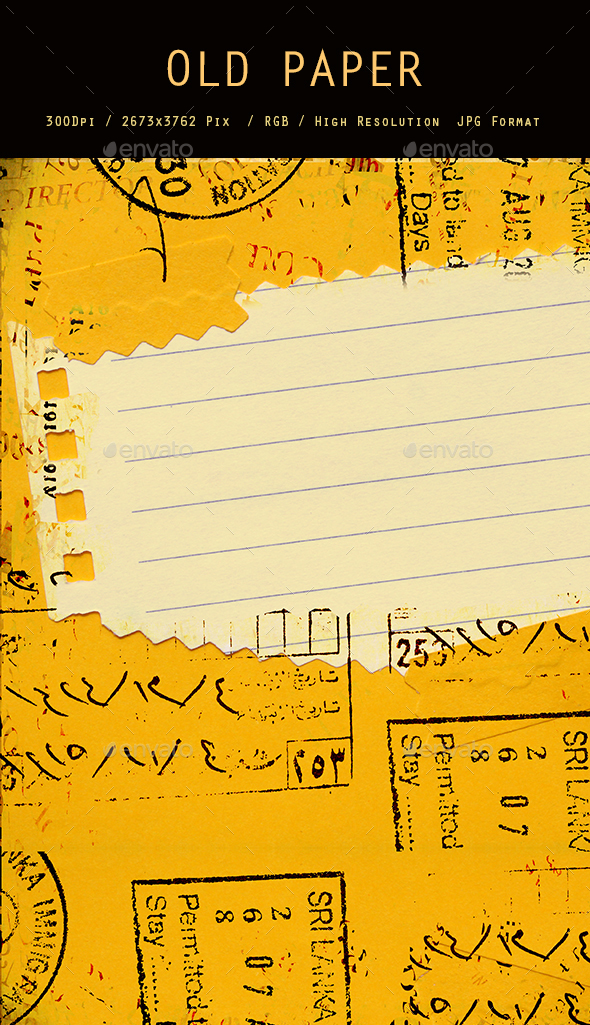 Old Paper 0219 - Paper Textures
