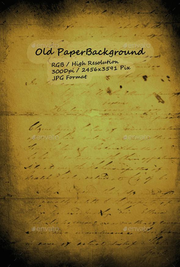 Old Paper 0224 - Paper Textures