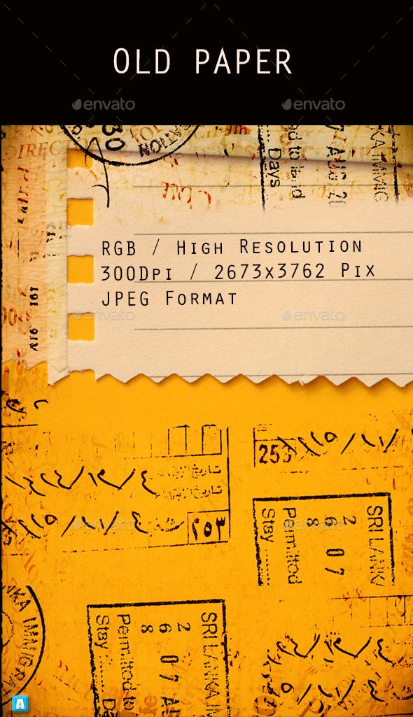 Old Paper 0226 - Paper Textures