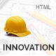 Innovation - Construction, Building HTML Template - ThemeForest Item for Sale