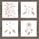Valentines Day Cards With Dream Catcher And Arrows - GraphicRiver Item for Sale