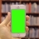 Smart Phone On Library Green Screen Type W-various - VideoHive Item for Sale