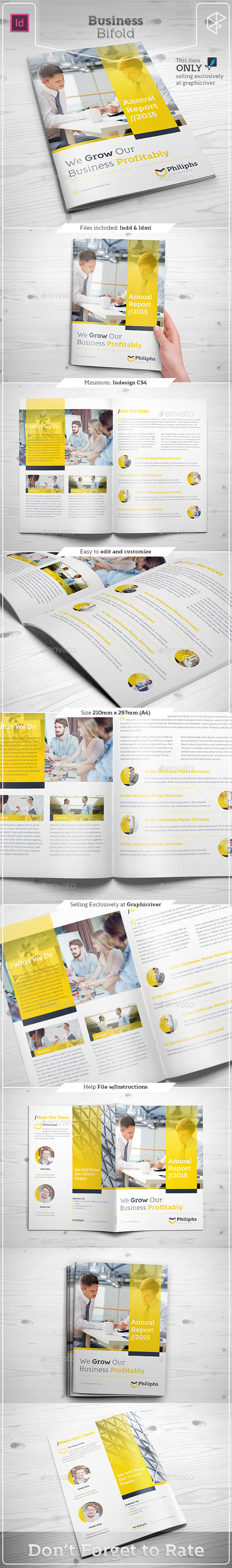 Business Bifold - Corporate Brochures