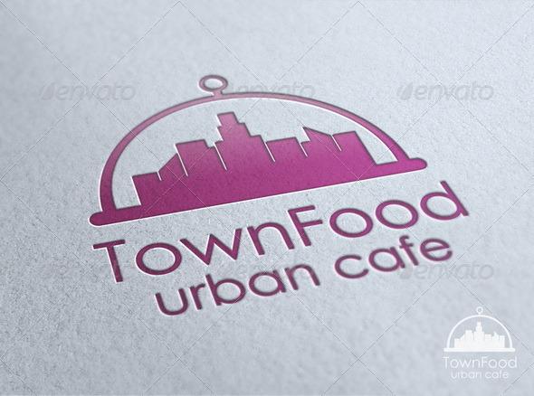 Town Food - Food Logo Templates