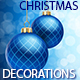 Vector Christmas Decorations Background - GraphicRiver Item for Sale