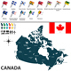 Map of Canada - GraphicRiver Item for Sale