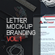 Letter Mock-up Branding V.1 - GraphicRiver Item for Sale