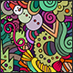 2 New Year Doodles Seamless Pattern - GraphicRiver Item for Sale
