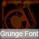 Grunge Font - GraphicRiver Item for Sale