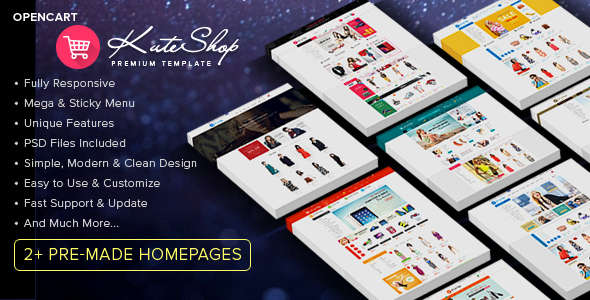 KuteShop – Multi-Purpose Opencart Theme