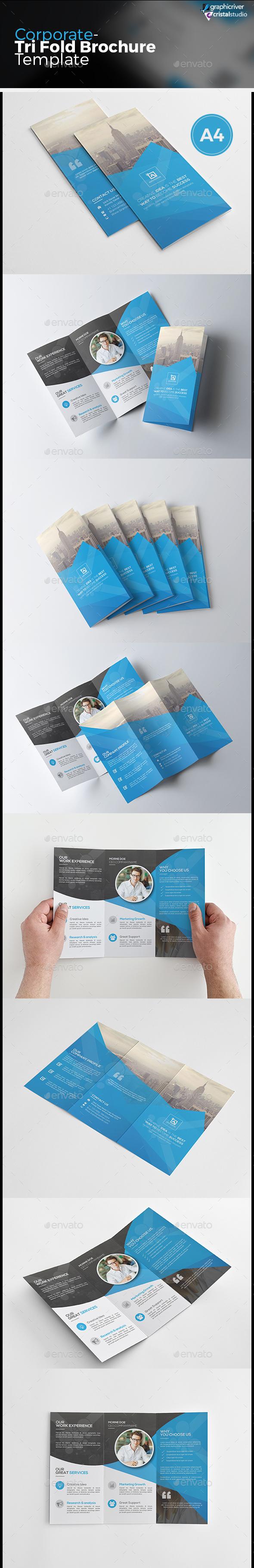 Tri Fold Brochure - Corporate Brochures