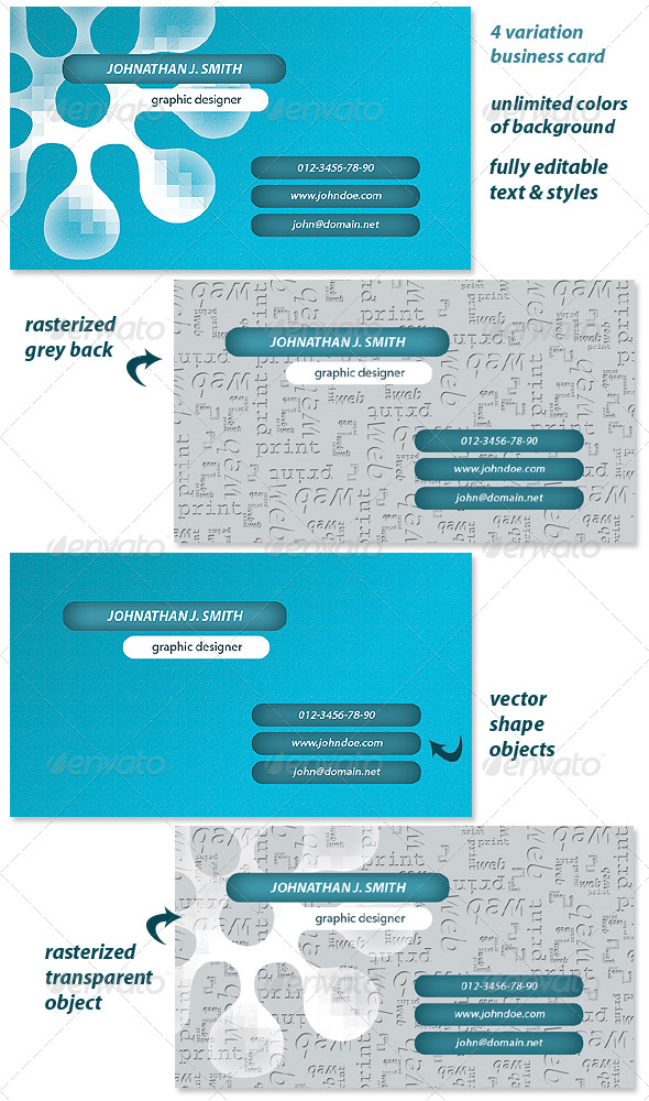 Graphic Designer - Business Card - Creative Business Cards