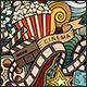 2 Cinema Doodles Seamless Patterns - GraphicRiver Item for Sale