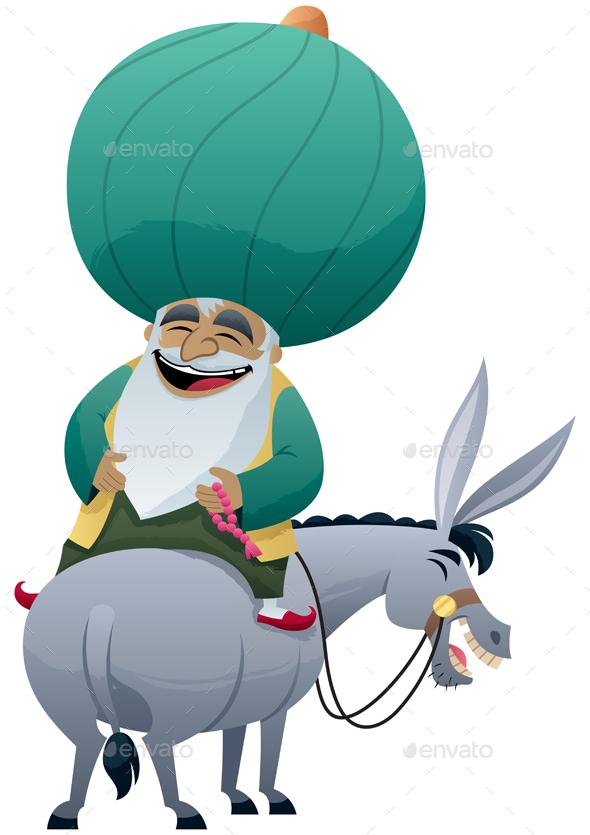 Nasreddin Hodja - People Characters