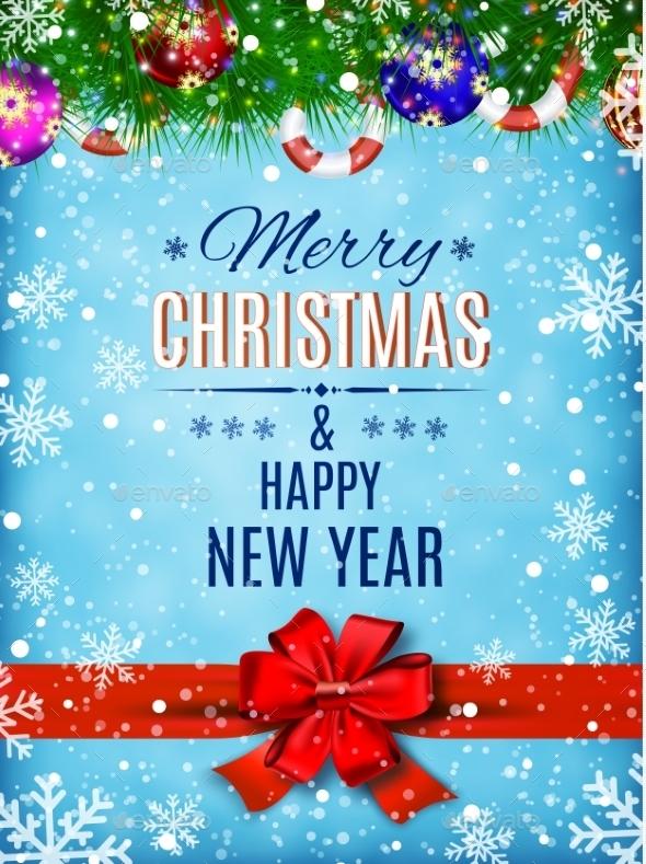Happy New Year Celebration Background  - Seasons/Holidays Conceptual
