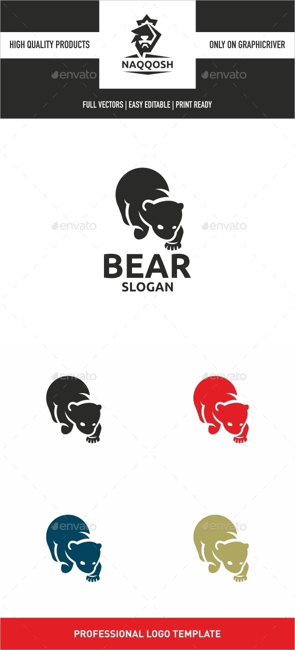 Bear - Abstract Logo Templates
