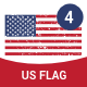 Retro US Flag - GraphicRiver Item for Sale