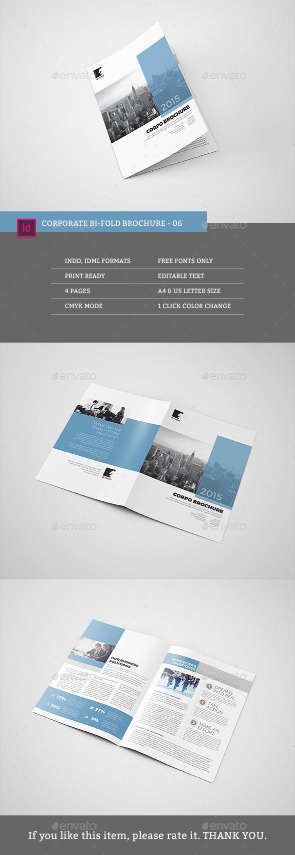 Corporate Bi-fold Brochure 06 - Corporate Brochures
