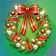 Christmas Wreath Greeting Card - GraphicRiver Item for Sale