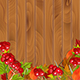 Autumn Background Wth Viburnum And Leaves - GraphicRiver Item for Sale