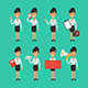 Business Woman in Different Poses - GraphicRiver Item for Sale