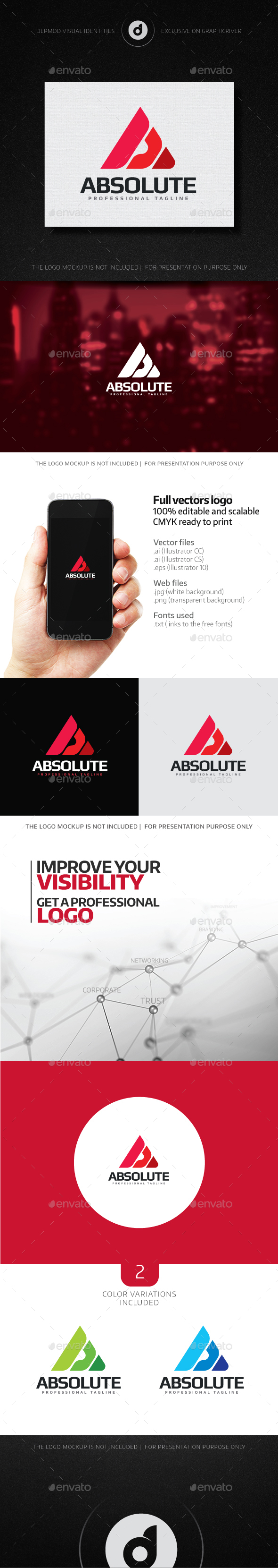 Absolute Logo - Letters Logo Templates