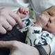 Baby On Hand Of His Father - VideoHive Item for Sale