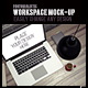 Minimalist Workspace Mock-Up - GraphicRiver Item for Sale